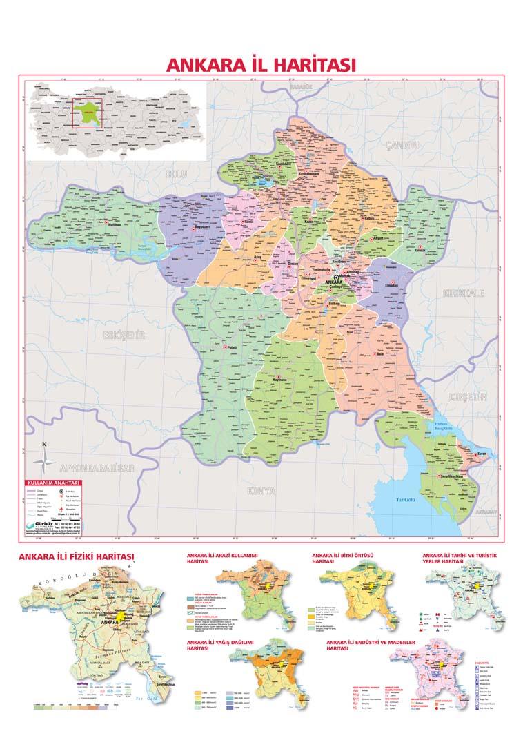 ankara turizm haritası ile ilgili görsel sonucu