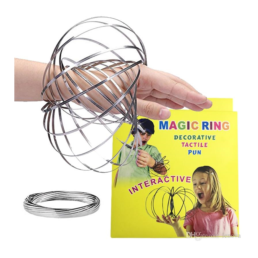 Toroflux Kinetik Akış Halkası - Magic Flow Ring